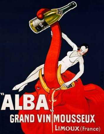"""""""Alba� Grand Vin Mousseux ca. 1928"""