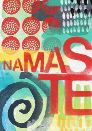 Abstract Namaste