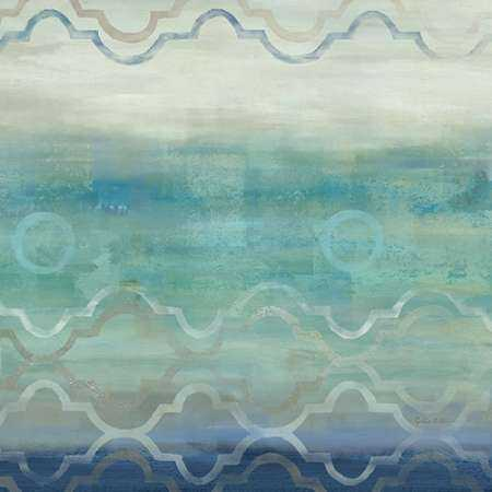 Abstract Waves Blue-Gray I