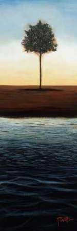 Across the Water II - Blue Landscape