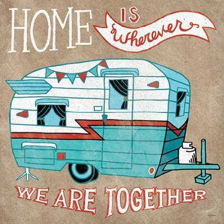 Adventure Love Camper Taupe