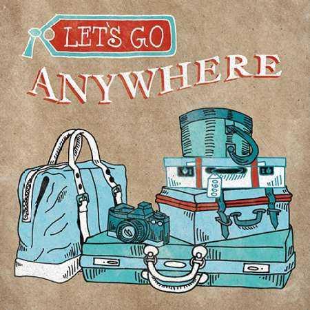 Adventure Love Suitcase Taupe