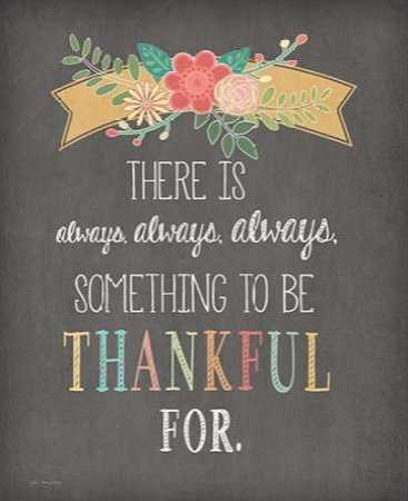 Always Always Always Thankful