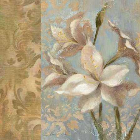 Amaryllis on Soft Blue  WAG