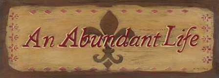 An Abundant Life