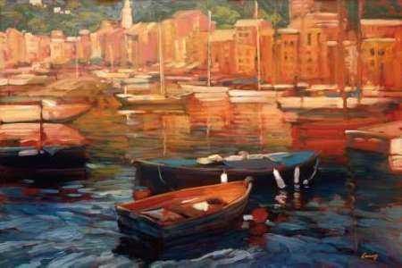 Anchored Boats - Portofino