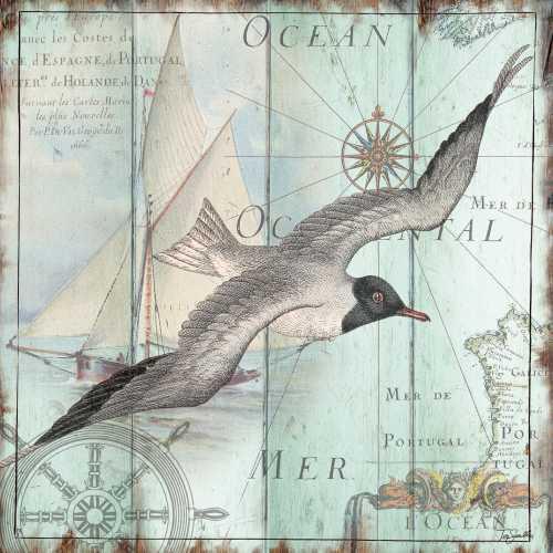 Antique La Mer III