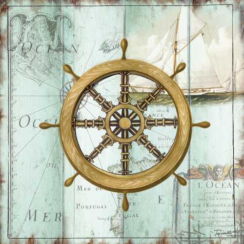 Antique La Mer VIII