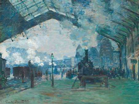 Arrival of the Normandy Train - Gare Saint-Lazare