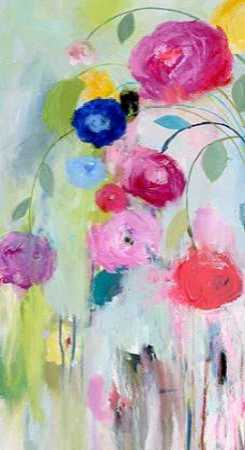Artists Bouquet Panel 1