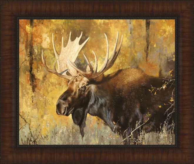 Autumn Moose Study #1byMark Kelso