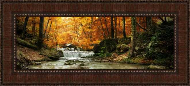 Autumn Stream by Irina Tischenko