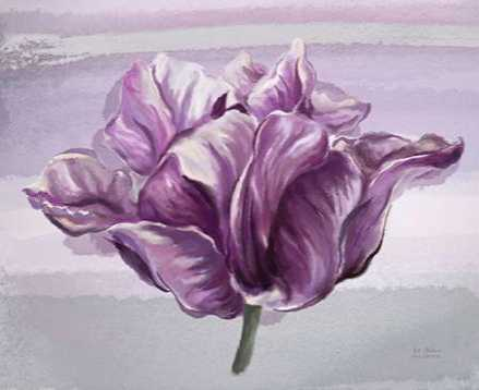 Awash In Plum Floral