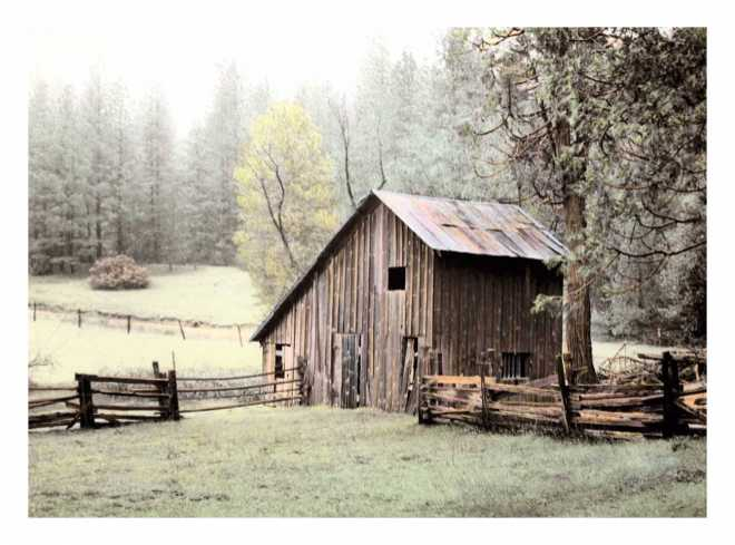 Barn near Sonora