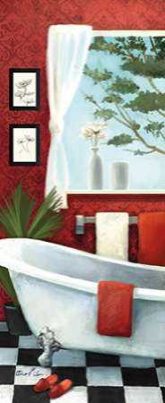 Bath with a View Panel I