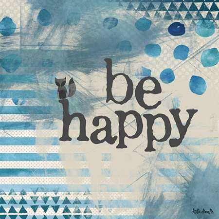 Be Happy - Blue