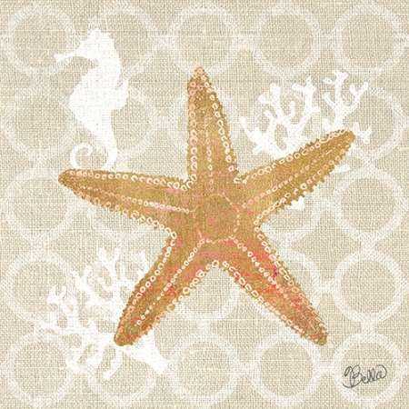 Beach Linen Starfish