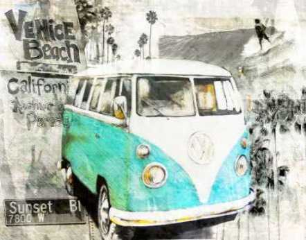 Beach Van - green