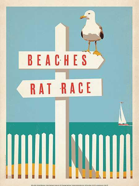 Beaches vs. Rat Race