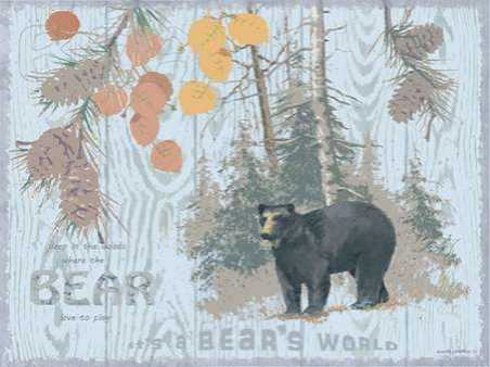 Bears World Gray