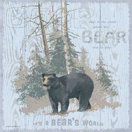 Bears World Gray