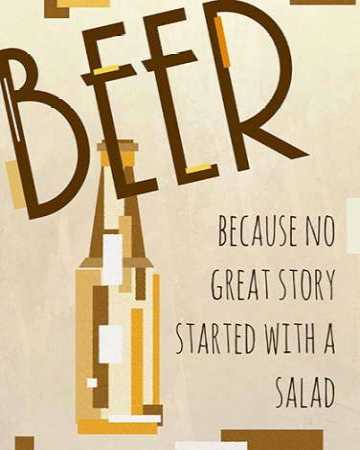 Beer-No Great Story