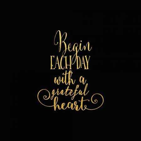 Begin Each Day Arrow