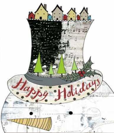 Big Top Hat Snowman