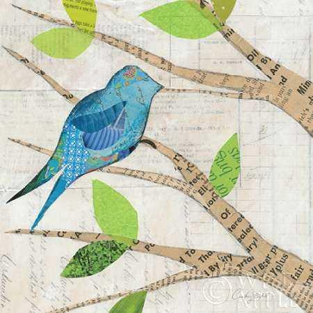 Birds in Spring  I Square