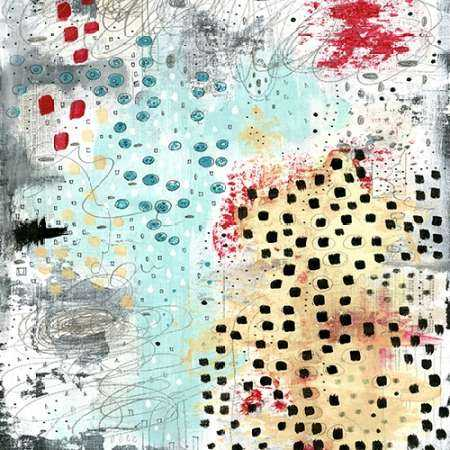 Black Spots Abstract