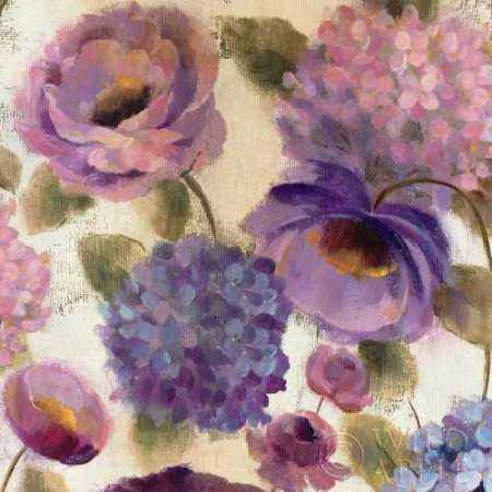 Blue and Purple Flower Song III