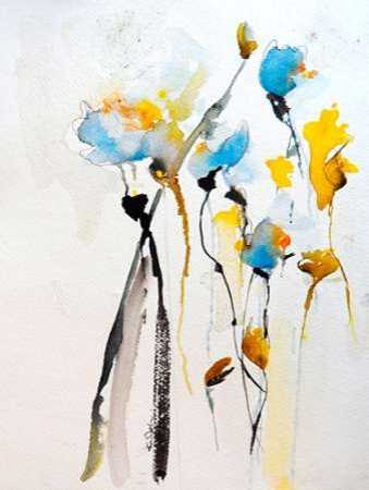 Blue Flowers II