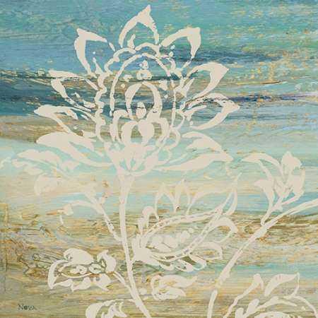 Blue Indigo with Lace I