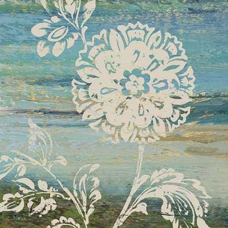 Blue Indigo with Lace II