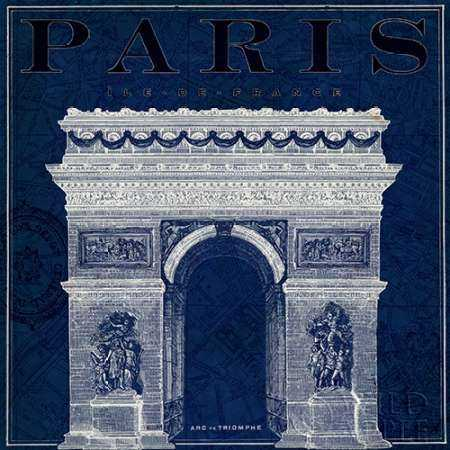 Blueprint Arc de Triomphe
