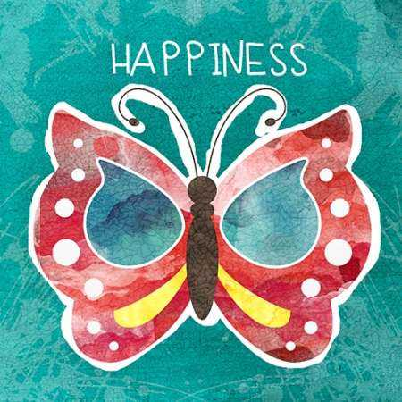 Boho Butterfly Happiness