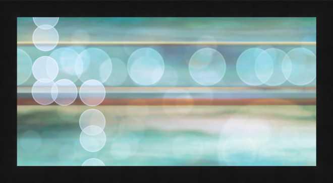Bokehscape Framed