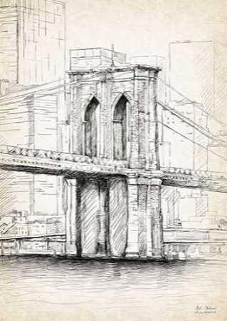 Brooklyn Bridge Sketch