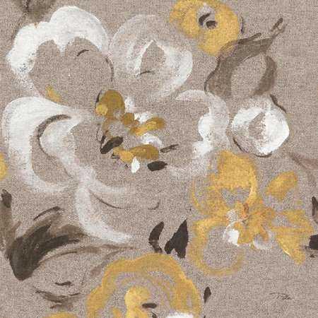 Brushed Petals II Gold