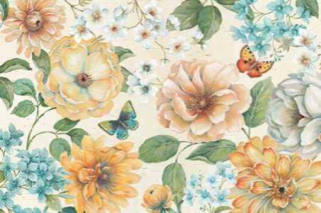 Butterfly Bloom I