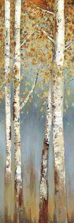 Butterscotch Birch Trees I