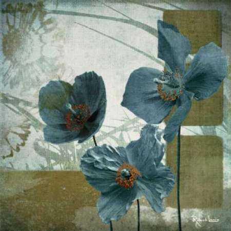 Cerulean Poppies II