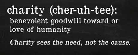 Charity Definition