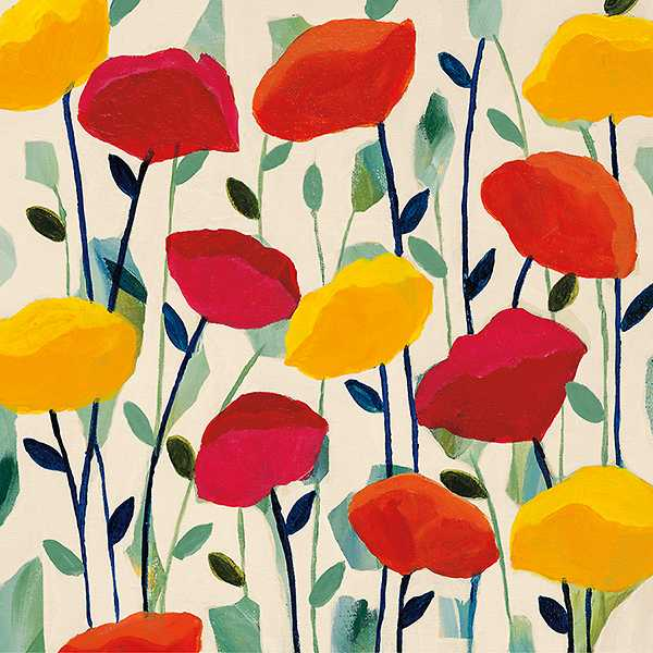Cheerful Poppies