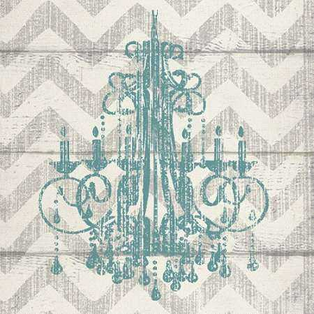 CHEVRON CHANDELIER I