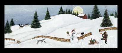 Christmas Valley Snowman