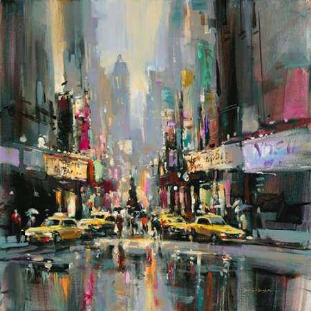 City Street Impression