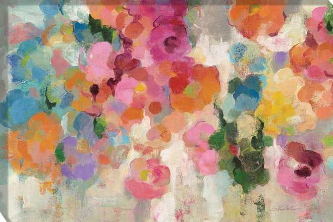 Colorful Garden I by Silvia Vassileva