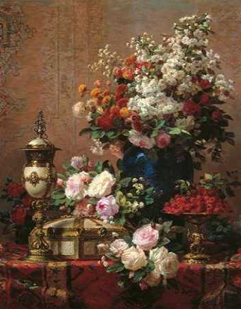 Composition with Roses