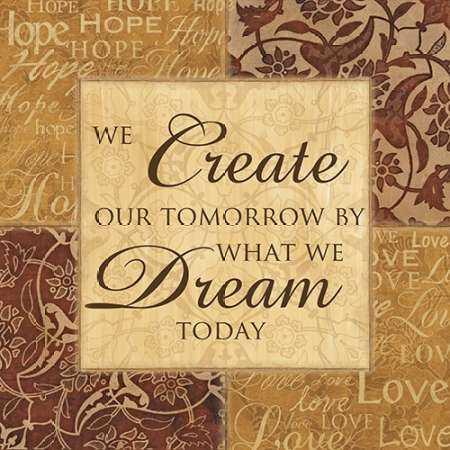 CREATE OUR TOMORROW